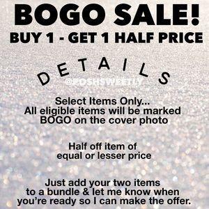 BOGO Sale!